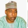 Governor Of Borno, Babagana Umara Zulum Visits Families Of Slain Policemen, Civilian JTF