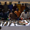 Police Nab 35 Suspects Including A Female For Armed Robbery, Kidnapping, 5 Other Inmates