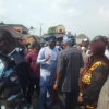 Angry Youths Block Oyo, Ondo Governors From Entering Monarch's Palace In Ibadan