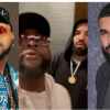 "Rapper, Drake, Says ""E Choke"" As He Comes In Contact With Davido (Video)"