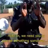 Video: Nigerian Police Officer Filmed Asking For Bribe From Spaniard On Highway